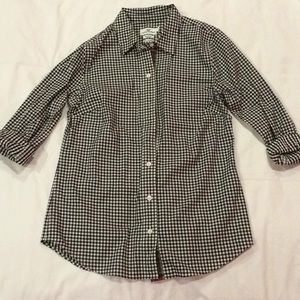 NWOT Vineyard Vines gingham blouse